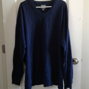 Vintage by Old Navy V-Neck Tee XXXL long sleeve